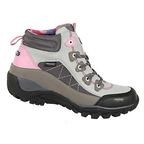 Discovery Expedition Womens Rugged Outdoor Mid Hiking Backpacking Boot Lace-up Sand 6