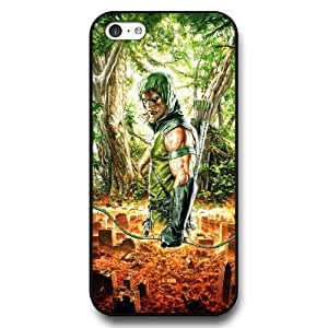 UniqueBox Green Arrow Custom Phone Case for iPhone 5C, DC comics Green Arrow Customized iPhone 5c Case, Only Fit for Apple iPhone 5C (Black Hard Shell)