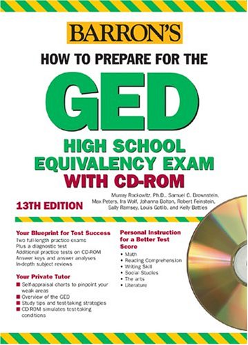 How to Prepare for the GED with CD-ROM (Barron's GED (W/CD))