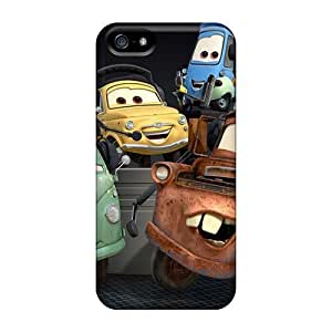 For DaMMeke Iphone Protective Case, High Quality For Iphone 5/5s Cars 2 Cartoons Skin Case Cover