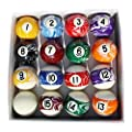 Sterling Gaming Designer Marbleized Pool Ball Set