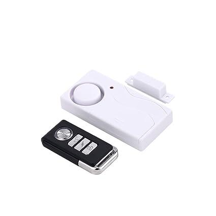 Mengshen Home Anti-Robo Puerta y Ventana Sensor de Movimiento magnetismo + vibración Dos en