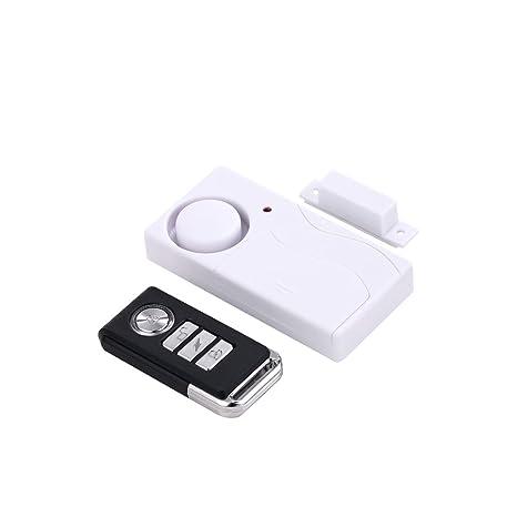 Mengshen Home Anti-Robo Puerta y Ventana Sensor de Movimiento magnetismo + vibración Dos en un Sistema de Alarma Anti-Robo de Seguridad con Control ...