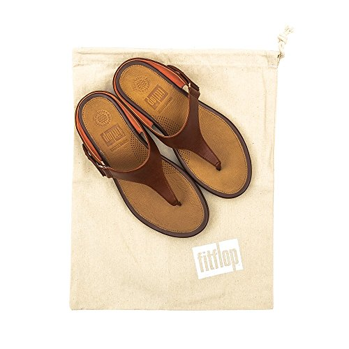 para Fitflop Mujer Post Gladdie Toe Tan Tm Chanclas Dark XqTZfw