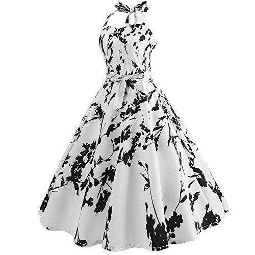 Rockabilly Vintage 1950s E Dress Swing Color Retro Cocktail Stageonline Party Women's q4XUaB1n4w