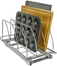 Lynk Roll out Tabla de Cortar, Bakeware, y de la Bandeja Organizador–Pull out Rack de Mueble de Cocina Profe