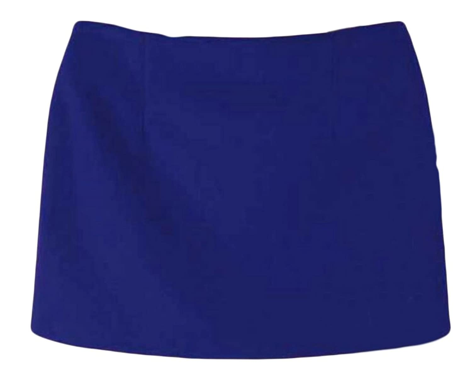 Hot Cruiize Womens Skinny Solid Color Classic Bodycon Mini A-Line Skirts free shipping