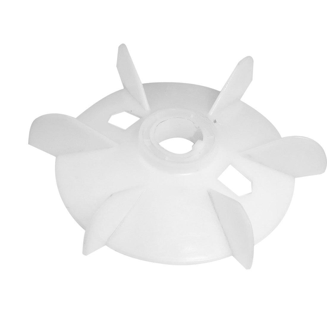 uxcell Spare Part 28mm Inner Dia 6 Vanes Impeller Plastic Motor Fan Wheel