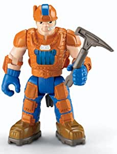 Fisher-Price Hero World Rescue Heroes Voice Comm - Jack Hammer