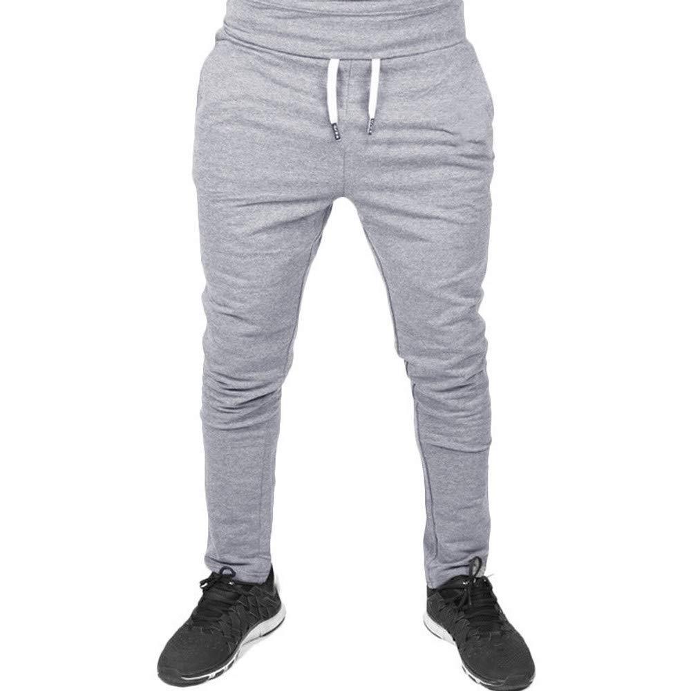 Elecenty Pantaloni da uomol, Pantaloni sportivi da allenamento casual da allenamento elastico fitness Sportwear Pantaloni Larghi
