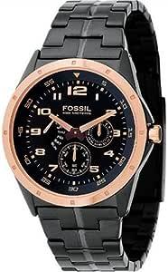 Fossil Men's Multi-Function Black Dial Watch #BQ9348