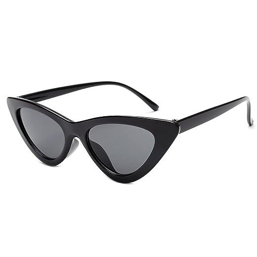5a3b534269 Sinweda Retro Cat Eye Sunglasses Vintage Mod Style Retro Sunglasses for Women  Clout Goggles Plastic Frame