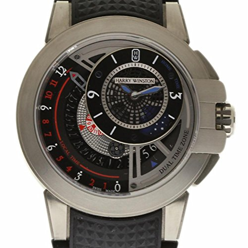 Harry Winston Ocean Swiss-Automatic Male Watch OCEATZ44ZZ009 (Certified Pre-Owned)
