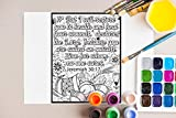 Healing Bible Verses Coloring Book For Adult: An