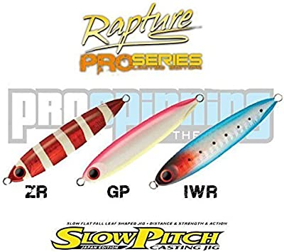 Rapture - SLOW PITCH Casting Jig - Señuelo pesca - Spinning (ZR ...