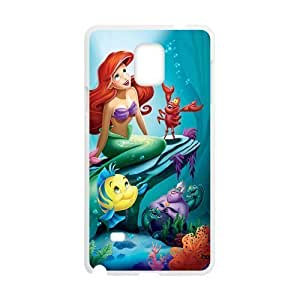The Little Mermaid Cell Phone Case for Samsung Galaxy Note4 WANGJING JINDA