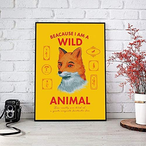 Amazon Com Fantastic Mr Fox Poster Movie Poster Gifts For Lovers Poster Poster Home Art Wall Posters No Framed Posters Prints