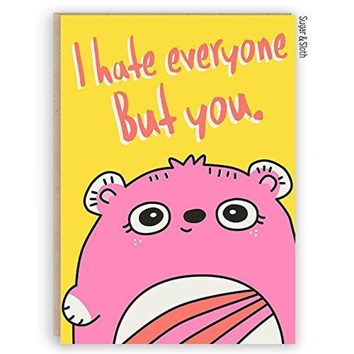 Funny Birthday Card For Husband Wife Boyfriend Girlfriend Funny