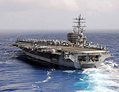 USS Ronald Reagan (CVN 76) A Nimitz-class aircraft carrier