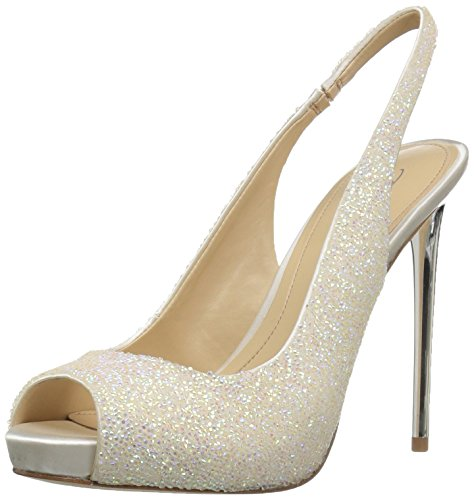 Imagine Vince Camuto Women's Im-pavi Dress Pump, Iridescent/Ivory, 8.5 M US