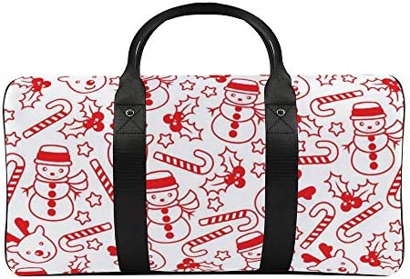 ボストンバッグ ダッフルバッグ 雪だるま スポーツバッグ 旅行バッグ 旅行カバン メンズ レディース ジムバッグ キャリーオンバッグ 大容量 トラベルバッグ 収納バッグ ショルダバッグ カート固定ロープ付き