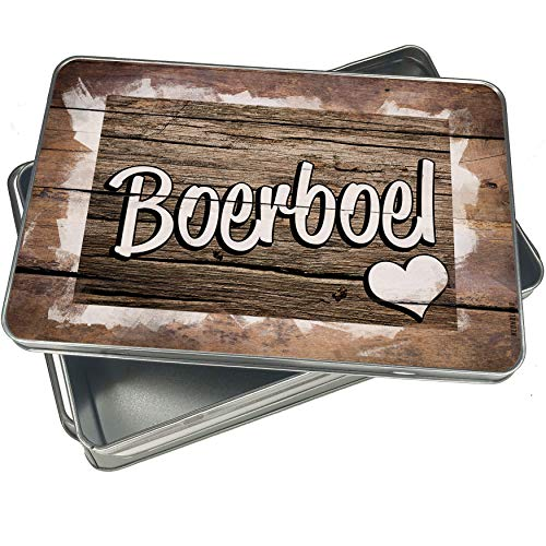 NEONBLOND Cookie Box Boerboel, Dog Breed South Africa Christmas Metal Container