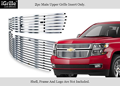 APS Fits 2015-2018 Chevy Suburban/Tahoe Stainless Steel Billet Grille #C66320C