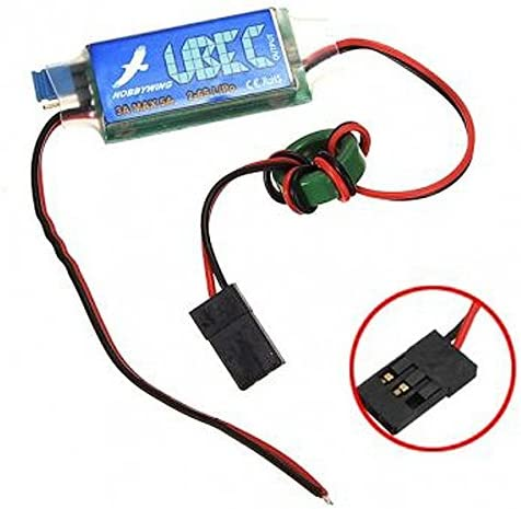 Hobbywing 3A UBEC w// RF Noise Reduction RC Output BEC Switch Mode for Lipo UK