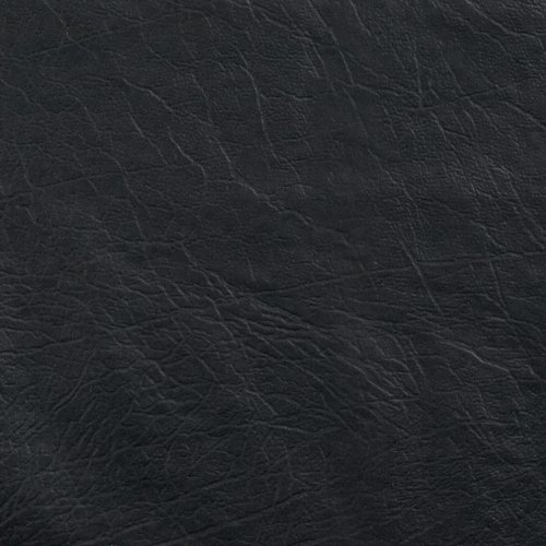 Faux Leather Buffalo Black Fabric product image