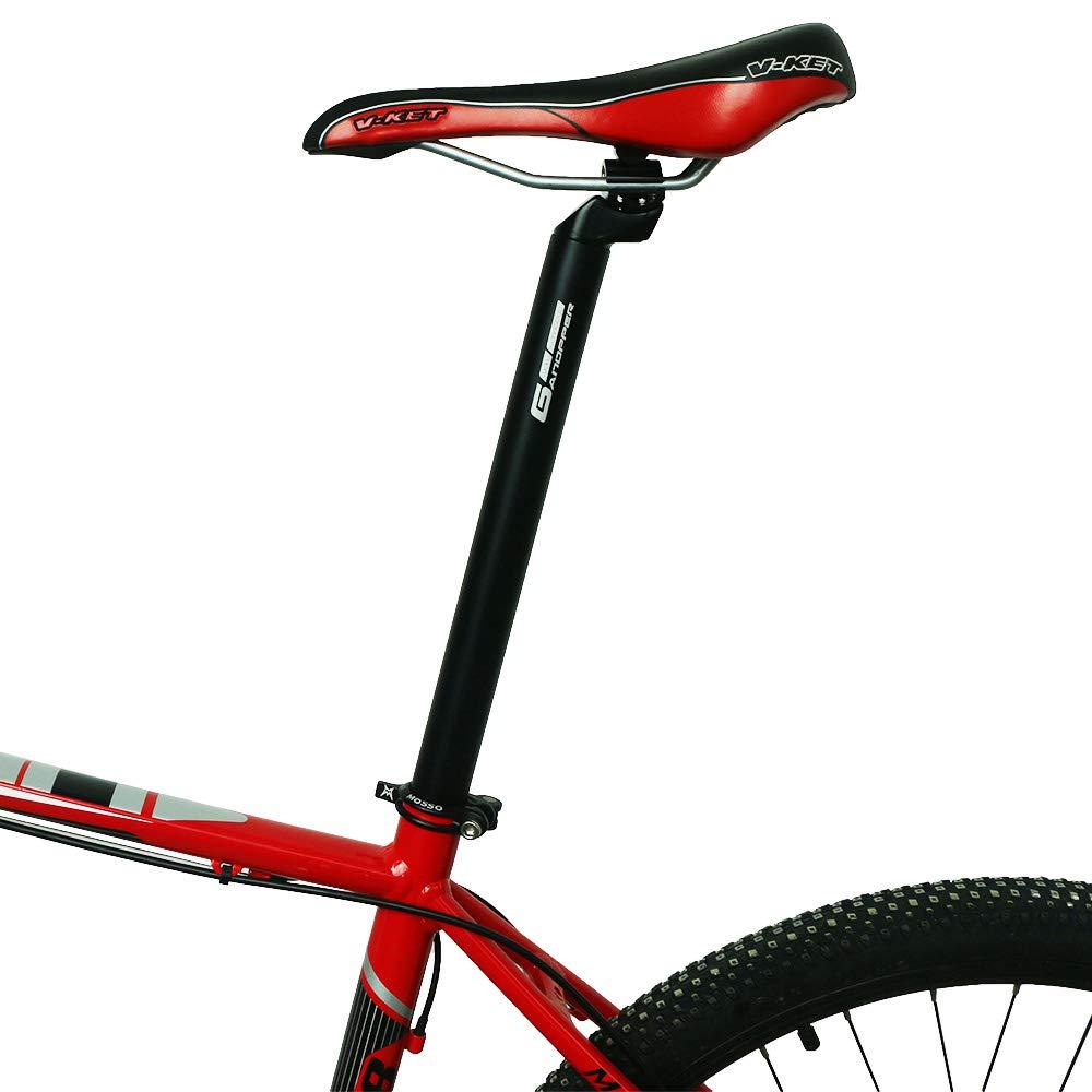 GANOPPER Alloy Alumium Fixie MTB Mountain Bike Seat Post Road Track Bicycle Seatpost 25.4mm 27.2mm 28.6mm 30.4mm 30.9mm 31.6mm