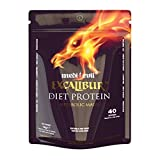 Medi-Evil 1 kg Strawberry Ice Cream Excalibur Diet Protein Supplement by Medi-Evil