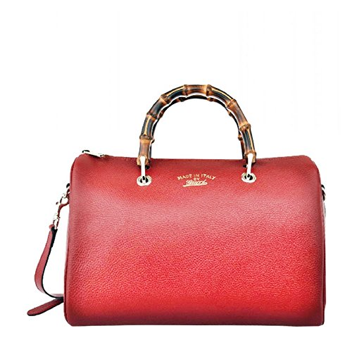 Gucci Lady Lock Red Satin Evening Clutch Bag 331825