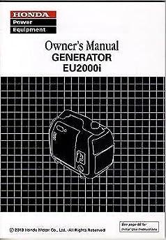 2013 honda power generator eu2000i owners manual 978 honda rh amazon com eu2000i repair manual eu2000i service manual pdf