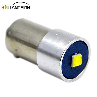 Ruiandsion 12-24V BAX9S LED Bulb H6W 64132 38161 Super Bright CREE 1SMD Chipset LED Bulb for Car Parking Reading Lights,6000K White (Pack of 1): Automotive