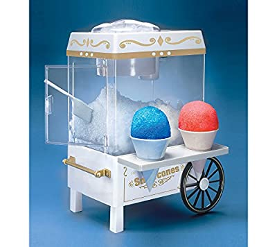 Nostalgia Vintage Collection Snow Cone Maker & Shaved Ice Storage