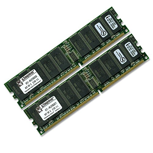 Kingston Technology 2GB (2 x 1GB) 184-Pin PC2100 266Mhz DDR ECC Registered Server RAM Upgrade