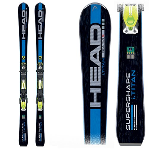amazon com head isupershape titan ski with prd 14 s binding