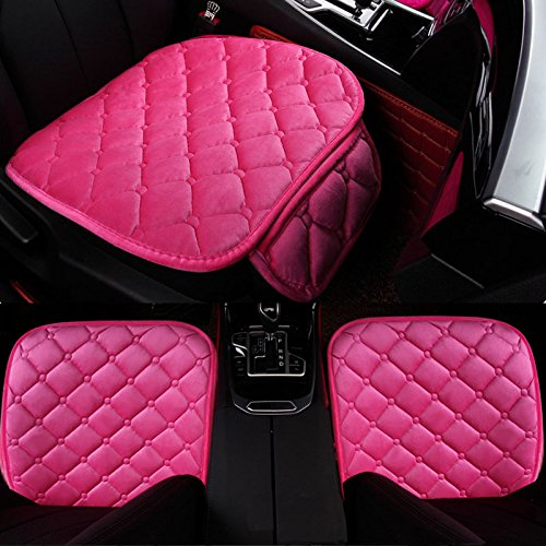 1 Pack Front Seat Cover HCMAX Soft Car seat Cover Cushion Pad Mat Protector for Auto Supplies for Sedan Hatchback SUV