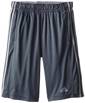 Adidas Men's Essentials 3-stripe Shorts, Dark Onixtech Grey, Medium 0