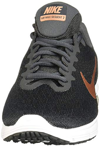 Air Chaussures De Noir Anthracite anthracite Multicolore Bronze Femme Red Bronze Nike Fitness Sequent Rouge 013 white Wmns black Blanc 2 Max mtlc 5OAXnq