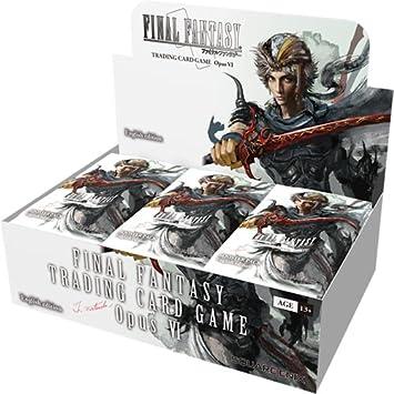 Final Fantasy SQUFFOP6 Opus 6 - Expositor de Tarjetas de ...