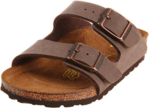 (Birkenstock Unisex Arizona Soft Footbed Sandal, Mocha Suede, 43 M EU/10-10.5 B(M) US Men)