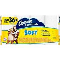16-Rolls of Charmin Essentials Soft 2-Ply Bathroom Tissue (200 Sheets Per Roll)