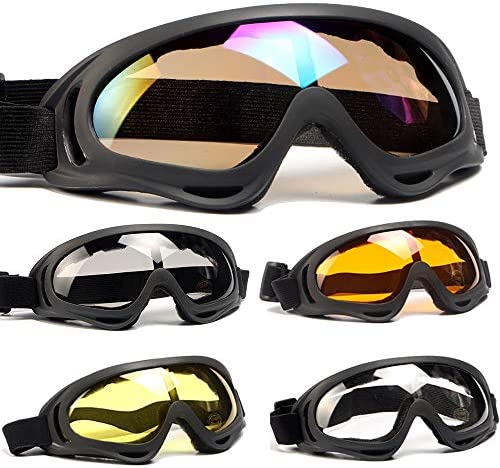 Peicees Adjustable Protective Motorcycle Sunglasses product image