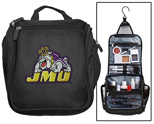 James Madison University Toiletry Bags Or Hanging JMU Shaving Kits (James Madison Dukes Jmu University)