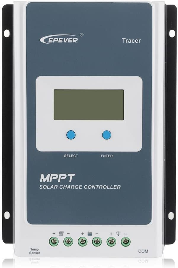 Sun YOBA MPPT Charge Controller Regulator Tracer 30A 12V 24V Auto with LCD Display for Solar Battery Charging