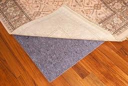 CraftRugs Premium Grip Plus Non-Slip Rug Pad, 5\' x 7\', Blue