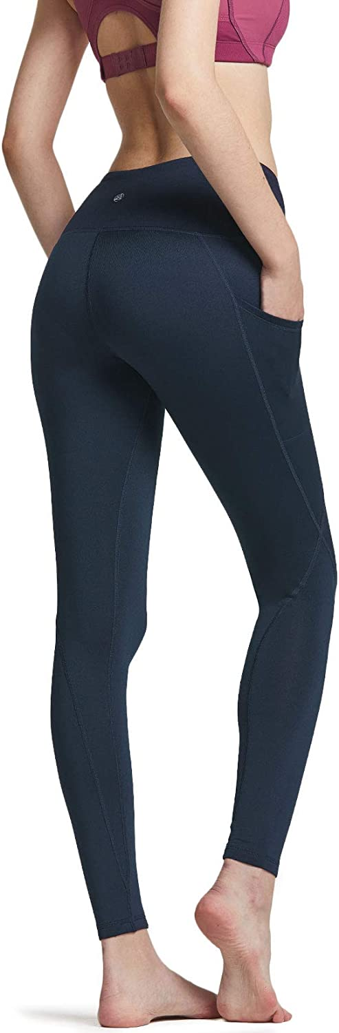 TSLA Womens Thermal Yoga Pants Wintergear Compression Leggings Tights