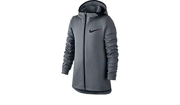 381233c48 Amazon.com: Nike Boys' Therma Flex Showtime Full Zip Basketball Hoodie:  Clothing