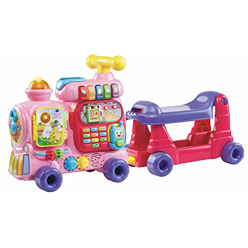 VTech Sit-to-Stand Ultimate Alphabet Train, Pink, 33.9
